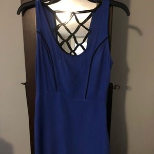 Solenoid blue dress size small